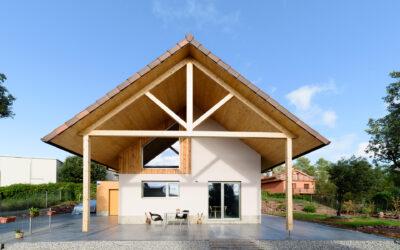 Casa Biopasiva de madera
